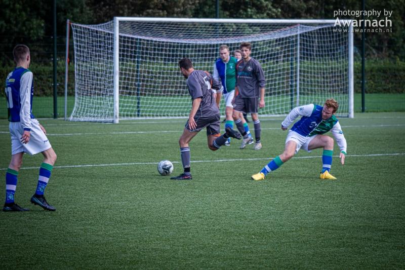 Sporting Andijk 3 vs. Kleine Sluis 2, uitslag 1-3