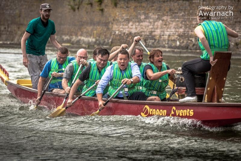 Drakenbootrace, Waterweken