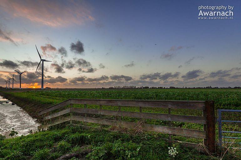 Windmolens aan de N243