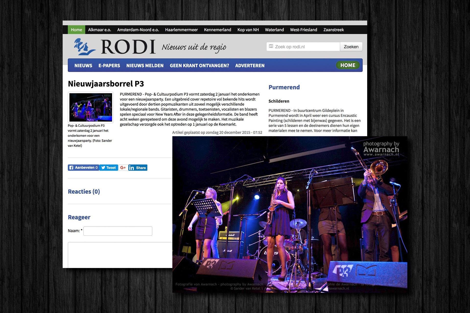 Publicatie op RODI